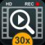 30x-zoom-digital-video-photo-camera icon
