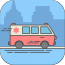 ambulance-inspection icon