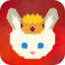 king-rabbit-find-gold-rescue-bunnies icon