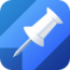 pushpin-for-pinboard-the-best-bookmark-manager-for-your-iphone icon
