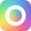 rainbow-cam-analog-natural icon